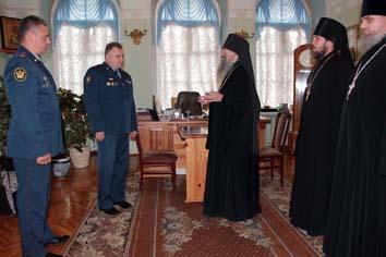Сегодня подписано соглашение о сотрудничестве между республиканским Управлением исполнения наказаний и Йошкар-Олинской и Марийской епархией Русской православной церкви